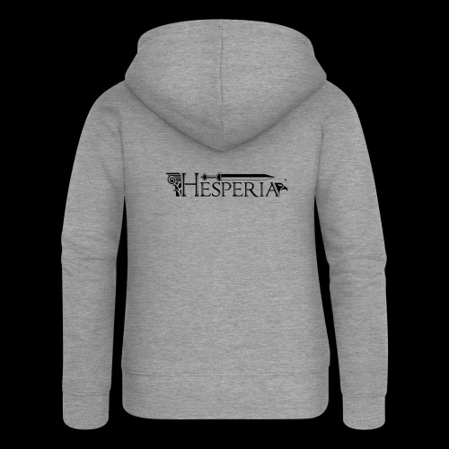HESPERIA logo 2016 - Women's Premium Hooded Jacket