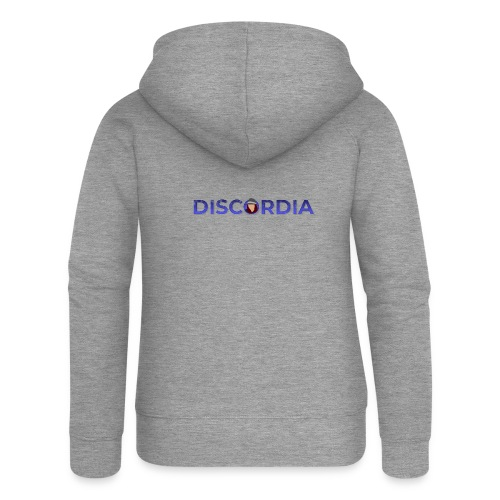 Discordia Logo - Women's Premium Hooded Jacket