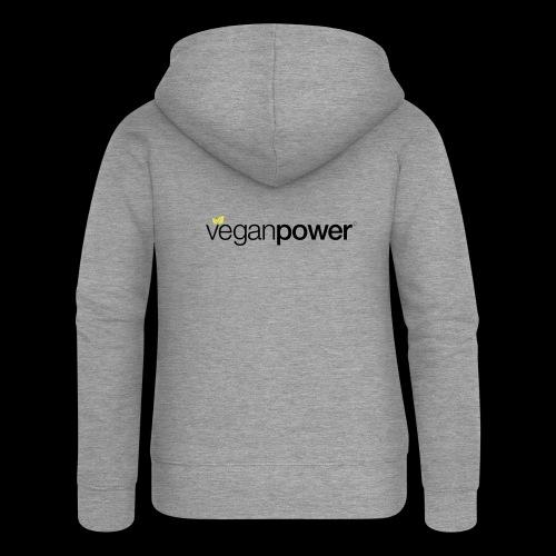 veganpower Lifestyle - Frauen Premium Kapuzenjacke
