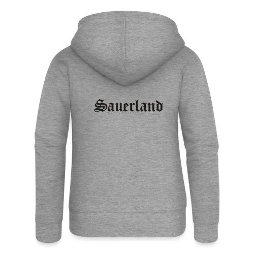 Sauerland - Frauen Premium Kapuzenjacke