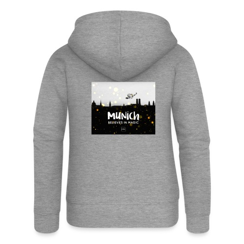 MUNICH BELIEVES - Frauen Premium Kapuzenjacke