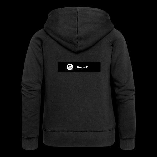 Smart' BOLD - Women's Premium Hooded Jacket