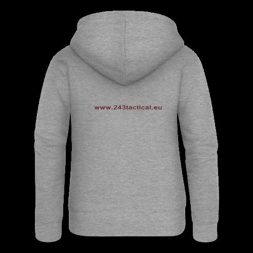 .243 Tactical Website - Vrouwenjack met capuchon Premium