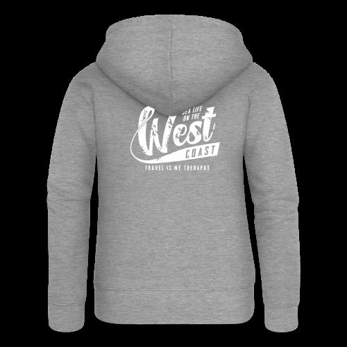 West Coast Sea surf clothes and gifts GP1306A - Naisten Girlie svetaritakki premium