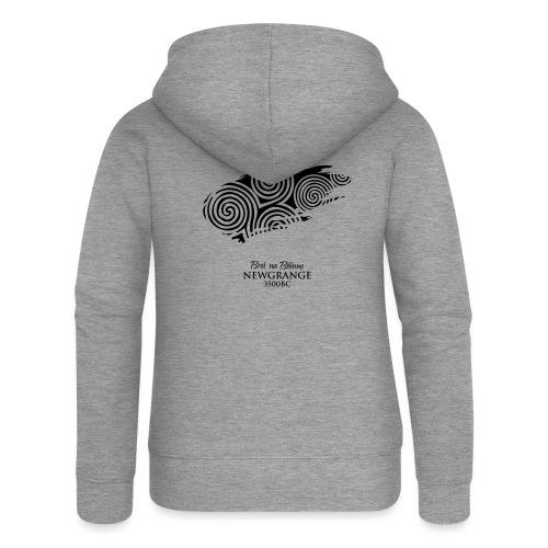 Legend_-_Newgrange2 - Women's Premium Hooded Jacket
