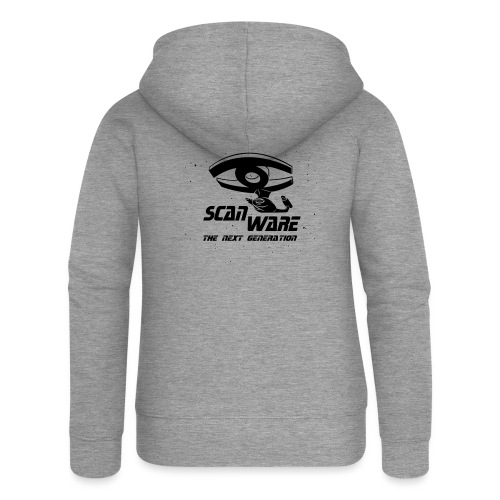 scanware azubiShirt - Frauen Premium Kapuzenjacke