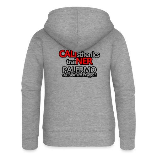 Caliner Palermo T-shirt - Felpa con zip premium da donna