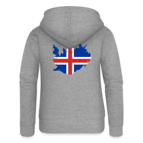 Iceland - Vrouwenjack met capuchon Premium