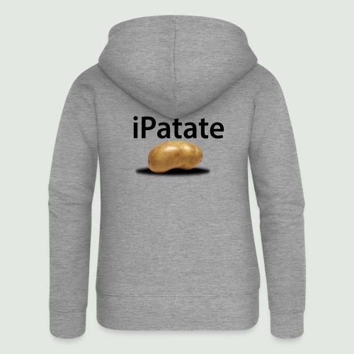 iPatate - Veste à capuche Premium Femme