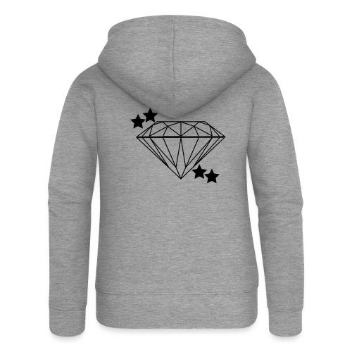 Diamant - Frauen Premium Kapuzenjacke