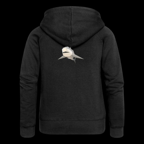 SHARK COLLECTION - Felpa con zip premium da donna