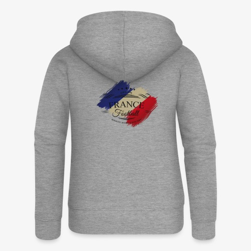 France Football - Frauen Premium Kapuzenjacke