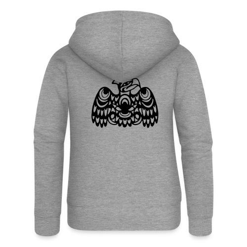 EAGLE WEST COAST SALISH (tribal collection) - Women's Premium Hooded Jacket