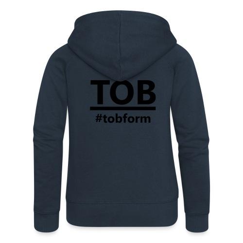 #tobform Hoodi - Frauen Premium Kapuzenjacke