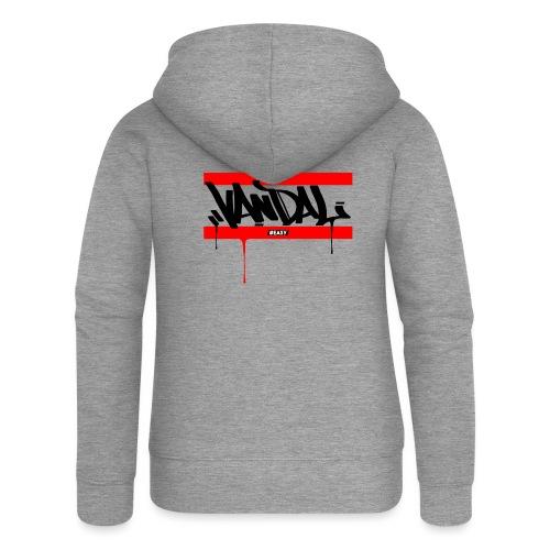 #EASY Graffiti Vandal T-Shirt - Felpa con zip premium da donna