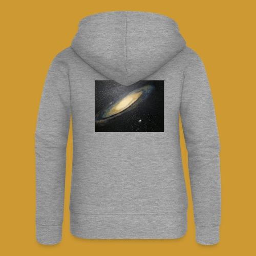 Andromeda - Mark Noble Art - Women's Premium Hooded Jacket