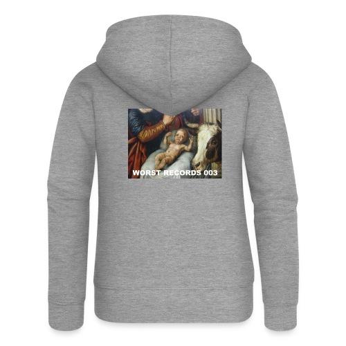 Worst Records 003 - Women's Premium Hooded Jacket