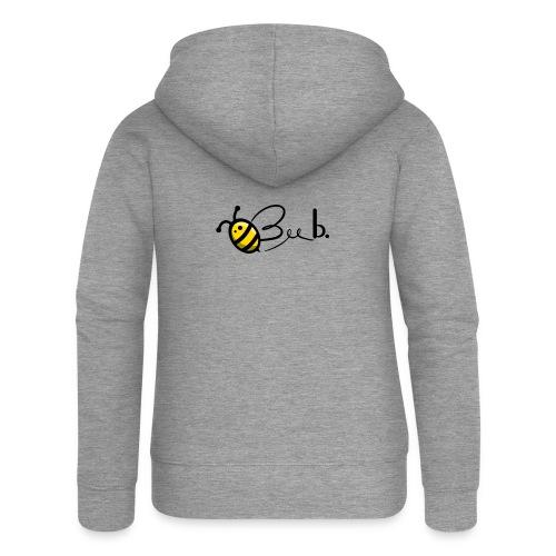 Bee b. Logo - Women's Premium Hooded Jacket
