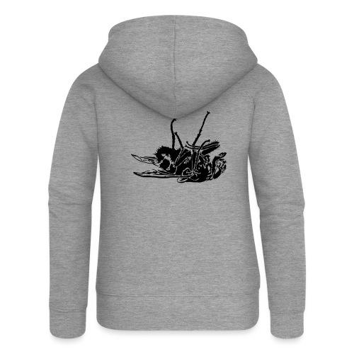 mouche morte - Veste à capuche Premium Femme