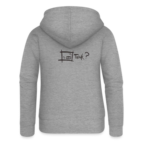 Think Outside The Box - Women's Premium Hooded Jacket