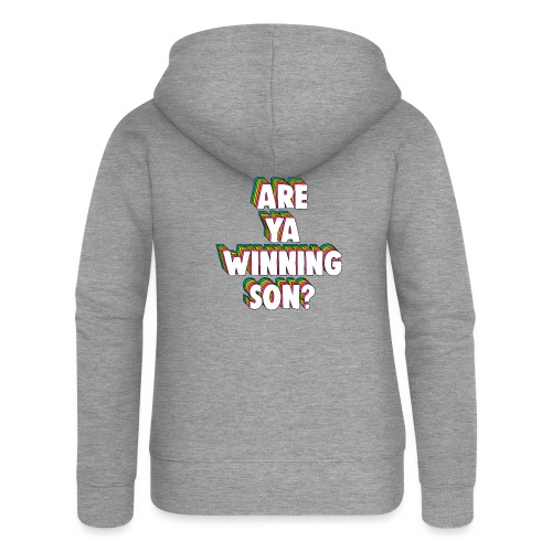 Are Ya Winning, Son? Meme - Women's Premium Hooded Jacket