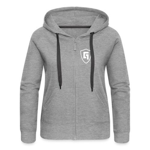 Gabber FM Logo - Women's Premium Hooded Jacket