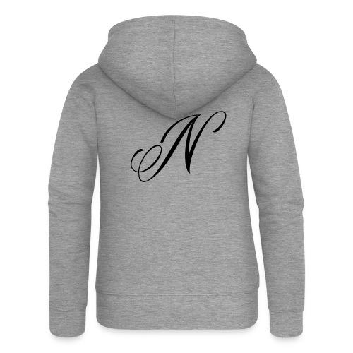 NUTTELOGO2NEW - Women's Premium Hooded Jacket