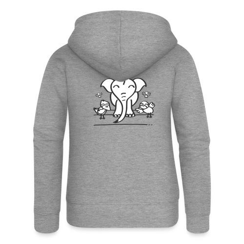 78 elephant - Frauen Premium Kapuzenjacke