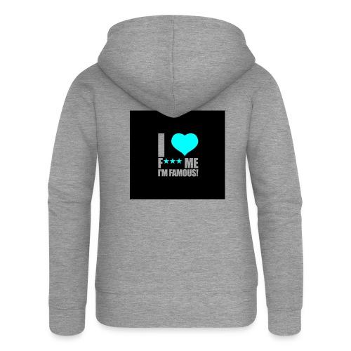 I Love FMIF Badge - Veste à capuche Premium Femme