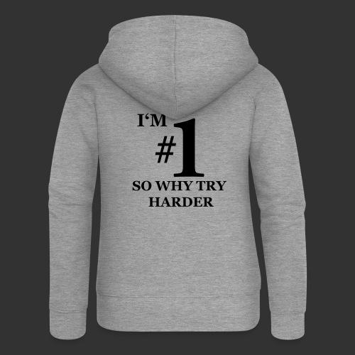 T-shirt, I'm #1 - Premium luvjacka dam