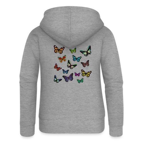 Butterflies flying - Premium luvjacka dam