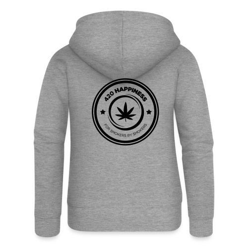420_Happiness_logo - Dame Premium hættejakke