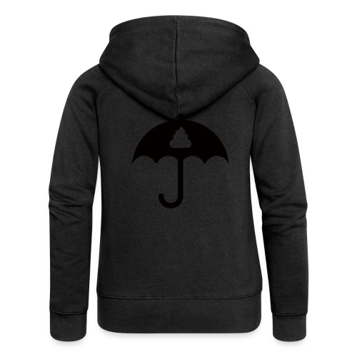 Shit icon Black png - Women's Premium Hooded Jacket