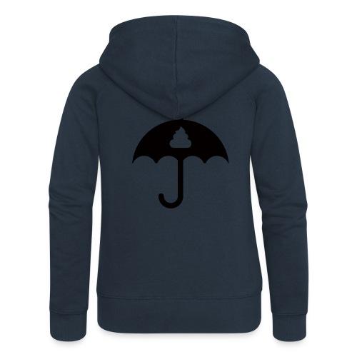 Shit icon Black png - Women's Premium Hooded Jacket