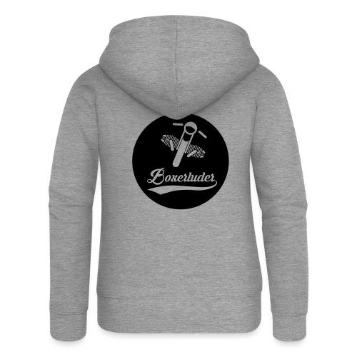 Motorrad Fahrer Shirt Boxerluder - Frauen Premium Kapuzenjacke