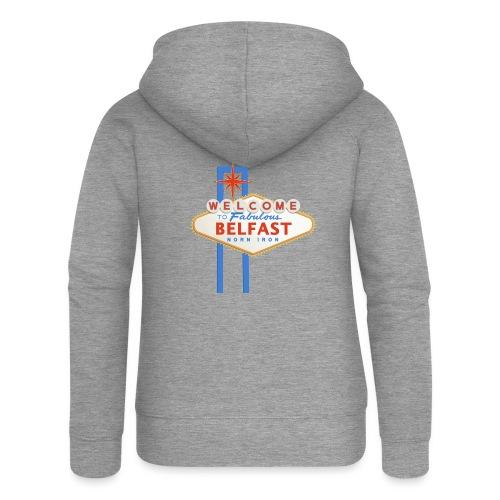 Belfast - Vegas sign - Women's Premium Hooded Jacket