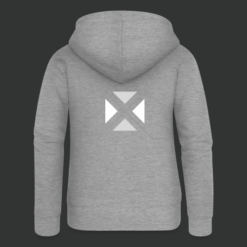 hipster triangles - Women's Premium Hooded Jacket