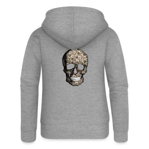 Skull Money Black - Chaqueta con capucha premium mujer