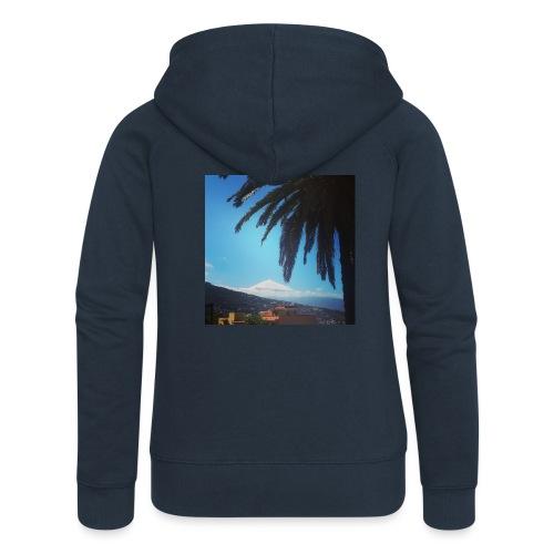 Islas Tenerife - Felpa con zip premium da donna
