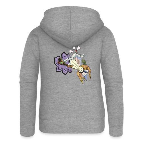 Spring Doodle - Vrouwenjack met capuchon Premium