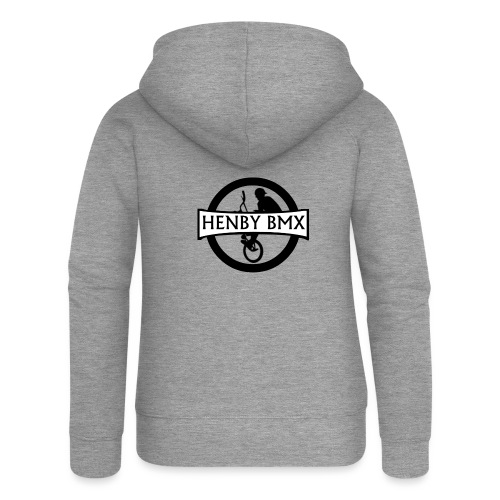 Plain Man's T-Shirt (Official HenbyBMX Logo) - Women's Premium Hooded Jacket