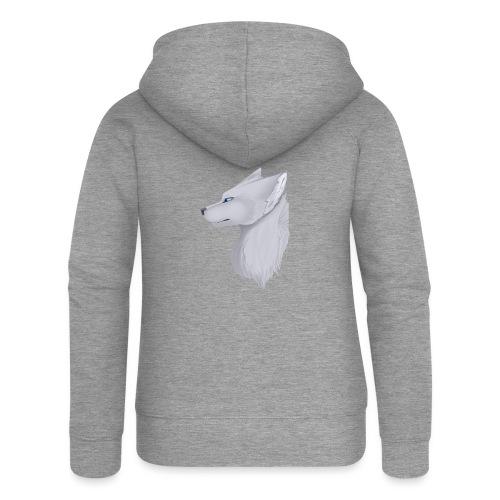 Wolf Skin - Women's Premium Hooded Jacket