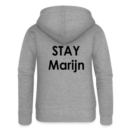 stay marijn black - Vrouwenjack met capuchon Premium