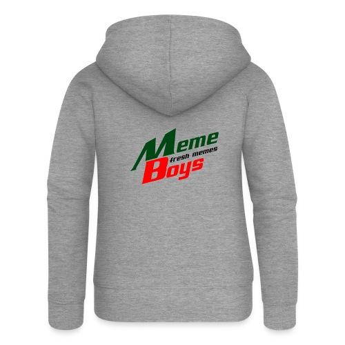 Memeboys Logo Shirt - Women's Premium Hooded Jacket