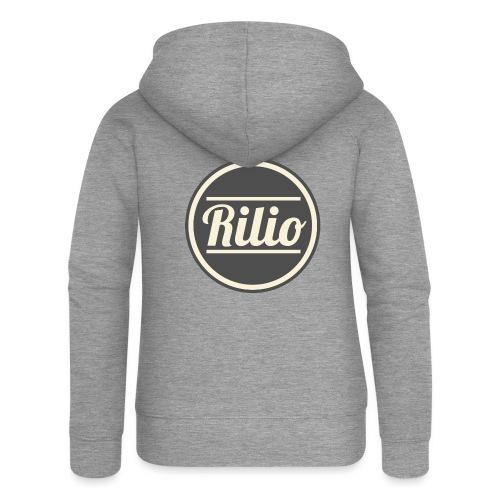 RILIO - Felpa con zip premium da donna