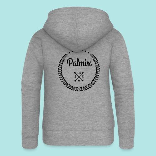 Palmix_wish V-neck - Women's Premium Hooded Jacket