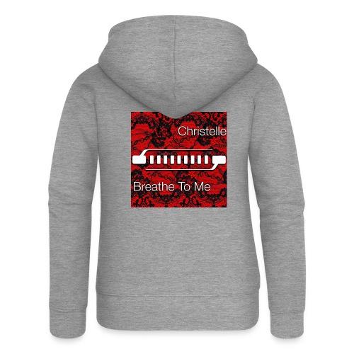 Christelle Album Breathe To Me official T Shirt - Women's Premium Hooded Jacket