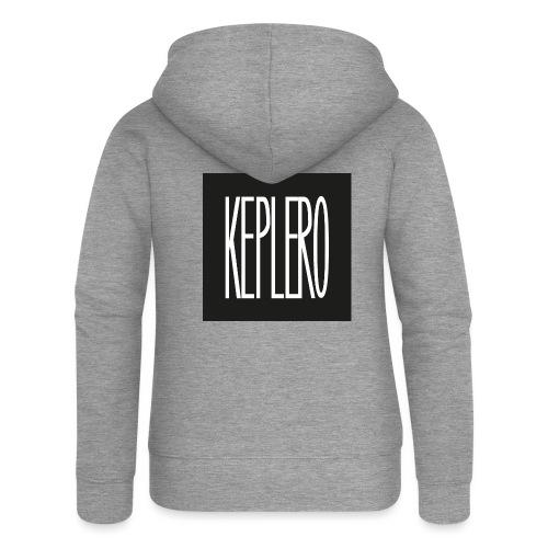 T-Shirt KEPLERO staff rave - Felpa con zip premium da donna