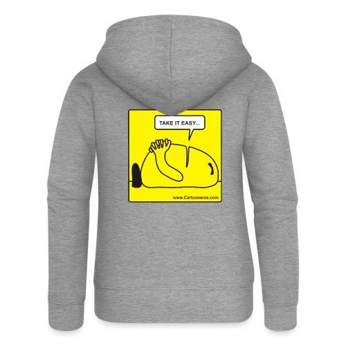 SiestaEasy png - Women's Premium Hooded Jacket