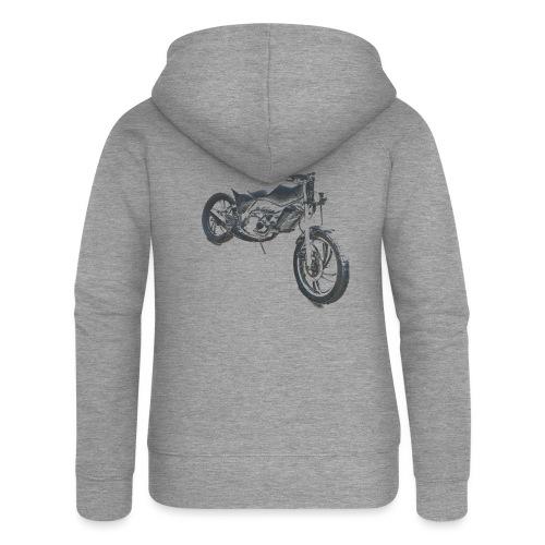 bike (Vio) - Women's Premium Hooded Jacket